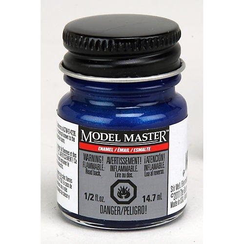 - Testor's 277108 1/2 Oz Blue Pearl Gloss Model Master Auto Enamel Paint