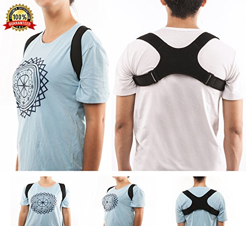 Back Posture Corrector for Women & Men Adjustable (24
