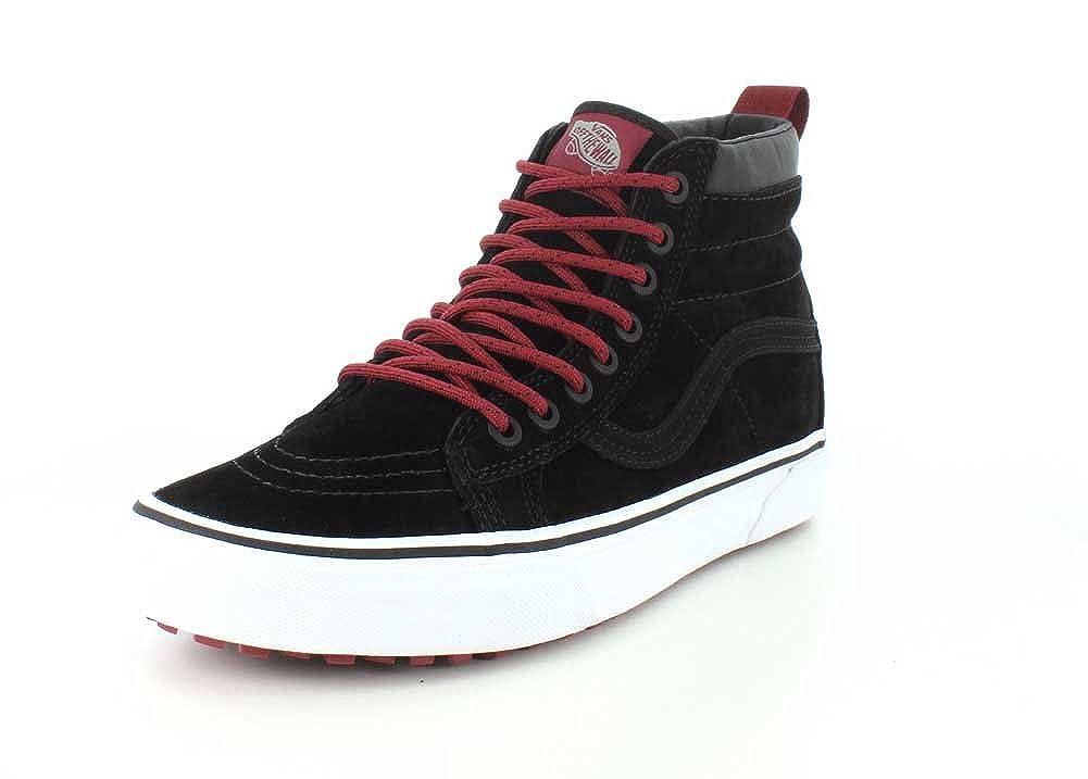 Black Beet Red Vans Unisex SK8-Hi(tm) Core Classics