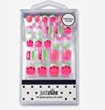 Justice Girls Just Shine Press-on Nails Watermelon Scented