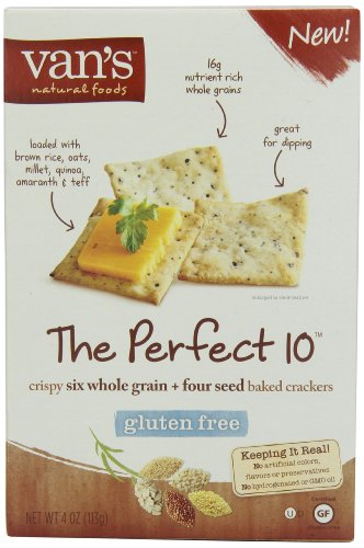 Van's Simply Delicious , The Perfect 10 Crackers,