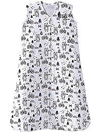Sleepsack 100% Cotton Wearable Blanket, Huggy Bears, Large