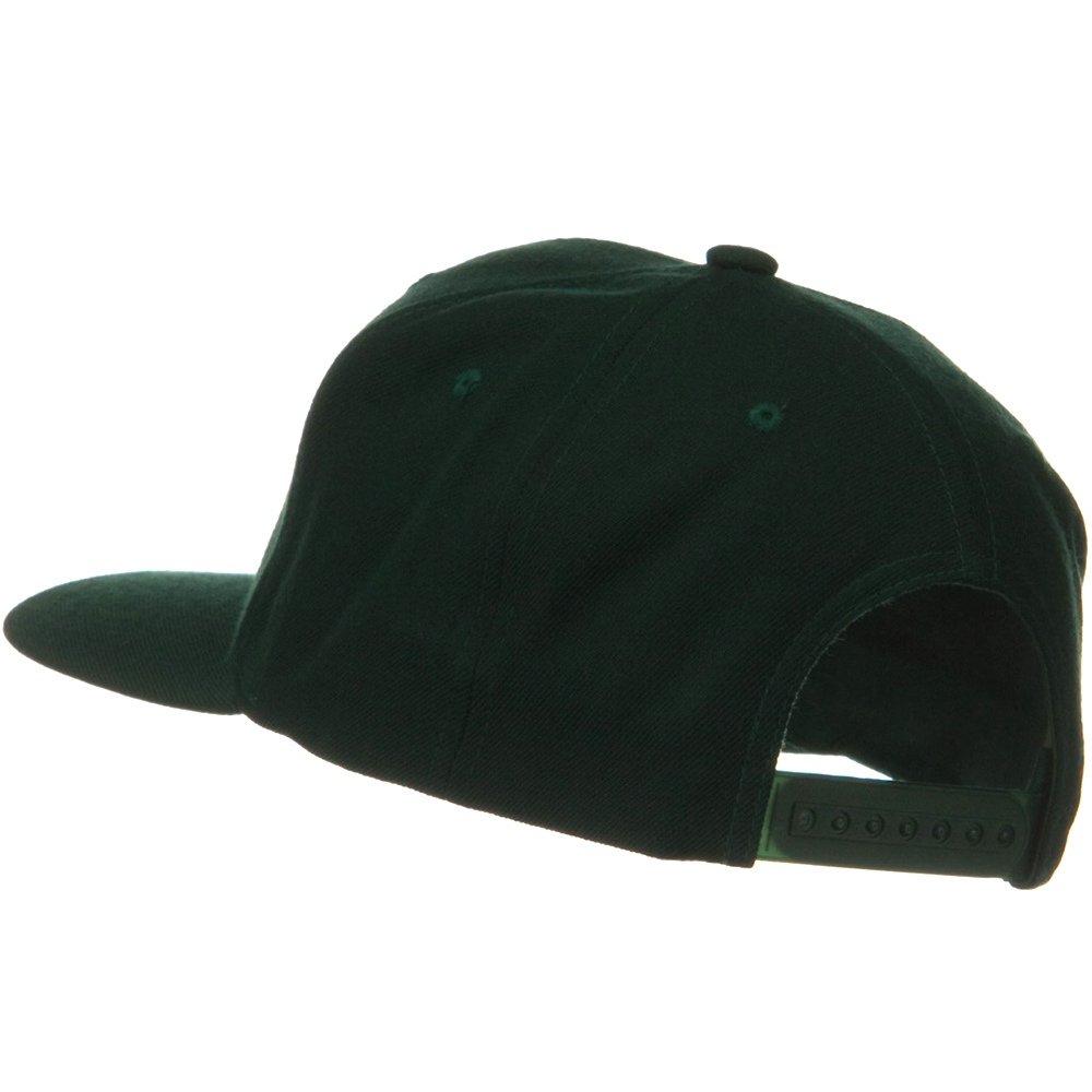 Sonette//Yupoong Wool Blend Prostyle Snapback Cap Spruce
