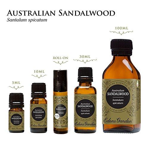 Edens Garden 100% Pure Therapeutic Grade Essential Oil, Sandalwood (Australian), 30 mL