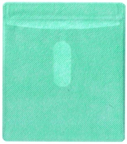 mediaxpo Brand 100 CD Double-Sided Plastic Sleeve Green