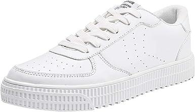 Zapatillas para Mujer Unisex Zapatos de Mujer en Color Liso ...