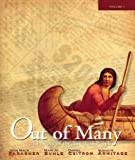 img - for Out of Many: A History of the American People, Brief Edition, Volume 1 (Chapters 1-17) (6th Edition) book / textbook / text book