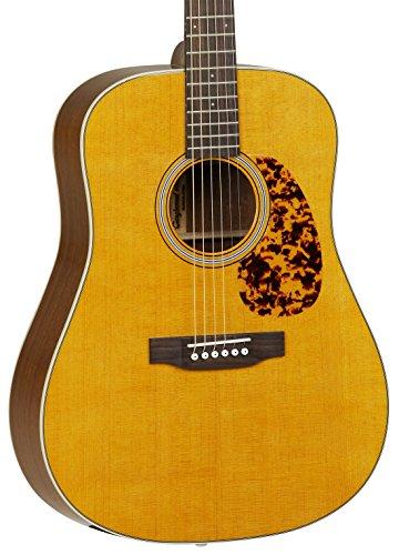 Tanglewood SolidTop Spruce/Mahogny Guitar, Honey Amber Gloss (TW40-D-AN)