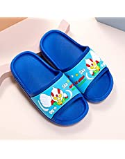 Kids Cartoon Anime Bath Slipper, Shower Girls Boys Slide Sandals Pool Shoes Casual Summer Anti-Slip Beach Slippers Soft Flip Flops