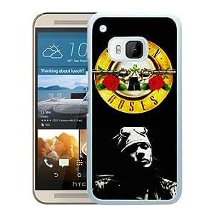 HTC ONE M9 guns n roses axl rose White Screen Cellphone Case Custom and Durable Design
