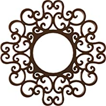 "Ekena Millwork CMPP16RESCO Reims Pierced Ceiling Medallion, 16""OD x 6 1/8""ID x 1/2""P, Copper"