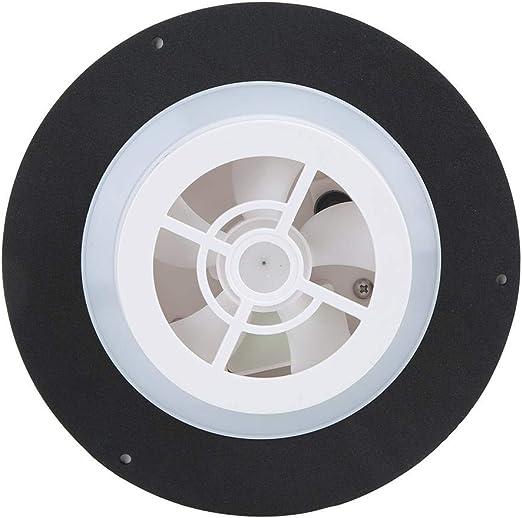 Edelstahl Abluftventilator Solarbetriebener L/üftungsventilator Bootsl/üfter