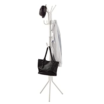 Garderobenständer Stabil langria garderobenständer stabil metall kleiderständer 16