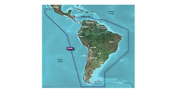 Garmin BlueChart G2 HXSA500L - Sudamérica - MicroSDTM/SDTM (42084): Amazon.es: Coche y moto