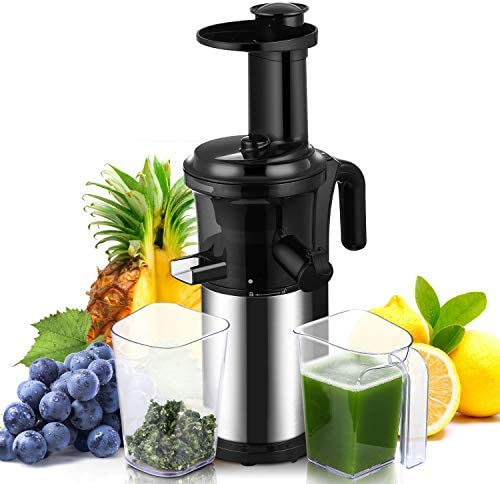 Slow Masticating Juicer Easy to Clean Geek Chef Cold Press Juicer