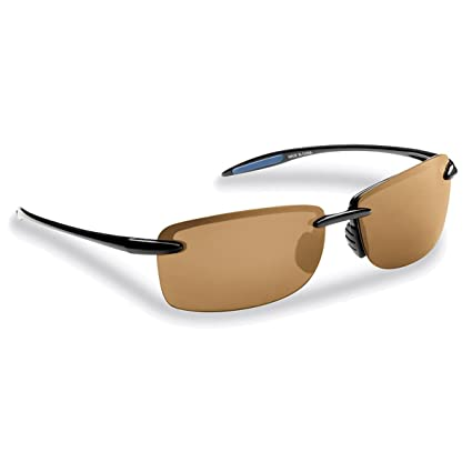 Flying Fisherman Cali Polarized Sunglasses, Black Frame