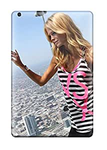 First Class Case Cover For Ipad Mini/mini 2 Dual Protection Cover Erin In Striped Tank Top
