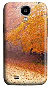 Foggy Autumn Morning Polycarbonate Hard Case Cover for Samsung Galaxy S4/Samsung Galaxy I9500 3D