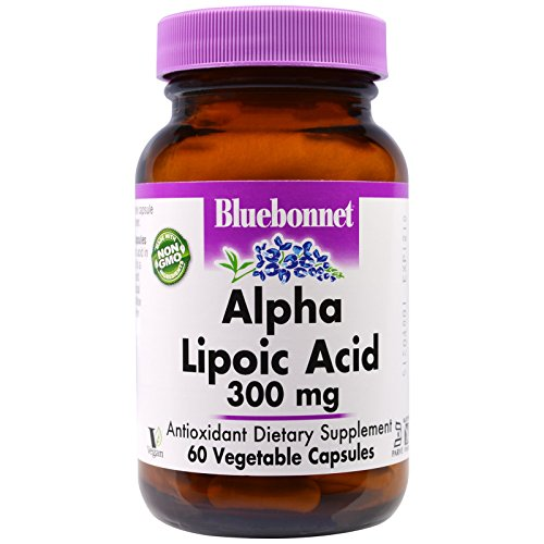 Bluebonnet Nutrition, Alpha Lipoic Acid, 300 mg, 60 Veggie Caps - 3PC by Bluebonnet Nutrition