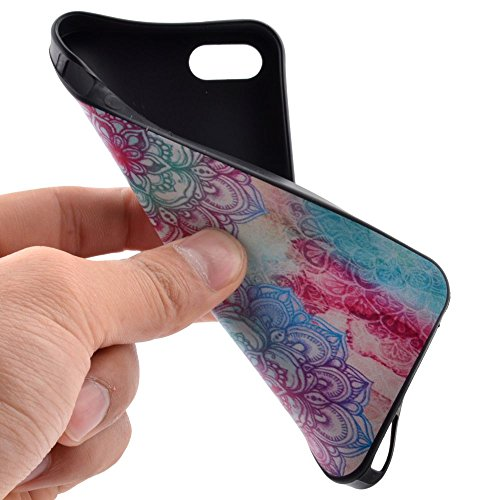 HYAIT® For IPHONE 5S/SE [XXG BLACK V1]Scratch-Proof Ultra Thin Rubber Gel TPU Soft Silicone Bumper Case Cover -BKI04