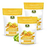 Basse Nuts Dried Jumbo Raisins, American Grown 3 Resealable Bags (1 Pound each)