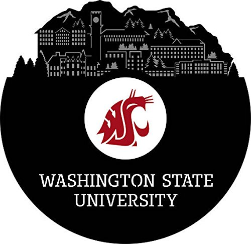 - VinylShopUS - Washington State University Vinyl Wall Art Record School Universities | Unique Gift for Student | Decoration Bedroom Decor