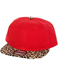Co Animal Print Hip Hop Snap Back Baseball Cap