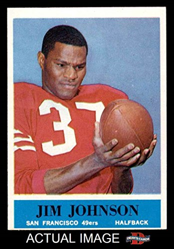1964-philadelphia-161-jimmy-johnson-san-francisco-49ers-football-card-deans-cards-6-ex-mt-49ers