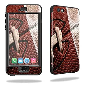 MightySkins Protective Vinyl Skin Decal for Lifeproof iPhone 6/6S Plus nuud cover wrap sticker skins Football