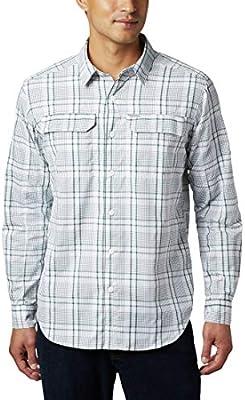 Columbia Silver Ridge 2.0 Camisa A Cuadros De Manga Larga, Hombre, Rain Forest Grid Plaid, M: Amazon.es: Deportes y aire libre