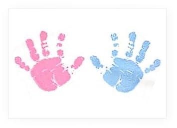 amazon com babyrice handprint footprint paint wipe girl pink boy