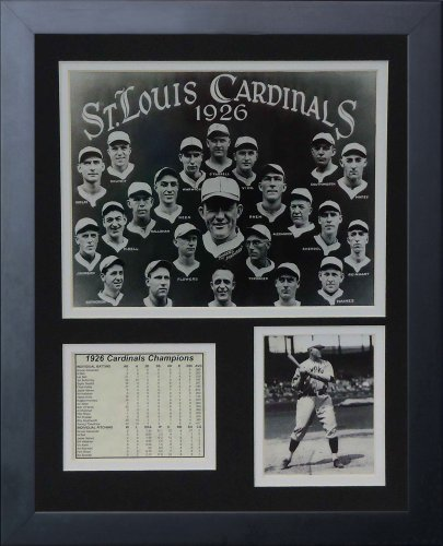Legends Never Die 1926 St. Louis Cardinals Framed Photo Collage, 11x14-Inch ()