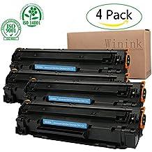 Winink Laserjet P1102w Toner Cartridge Black 4pack High yield compatible HP laser Jet replacement for HP Laser Jet pro P1100 1102 1104 1109 1102W 1104W 1109W