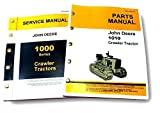 John Deere 1010 Crawler Loader Dozer Tractor Service Repair Shop Manual
