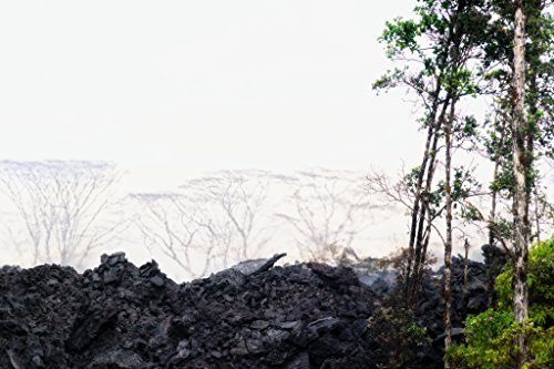 'Yesterday' Kilauea East Rift Zone 2018 lava Eruption, Hawaii Island - large unframed original print direct from Big Island photographer Harry Durgin by Tanglewood Gallery