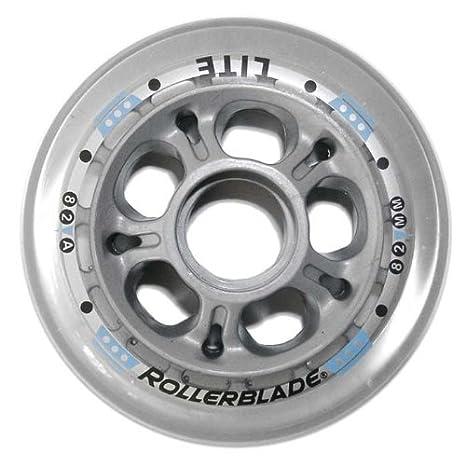 Rollerblade - Ruedas para patines en línea color transparente talla 82mm: Amazon.es: Deportes y aire libre