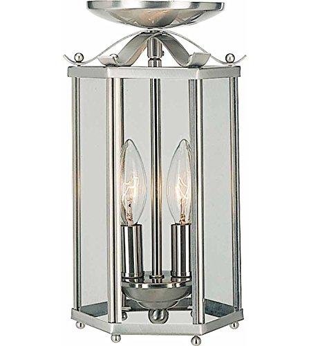 Tiffany Pendant Lights Brushed Nickel