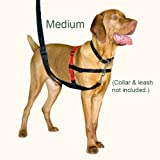 Halti Dog Harness – Multi-Functional! – No Pull Plus Regular Harness, Medium, My Pet Supplies