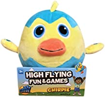 Fuzzy Flyers: Chirpie, Interactive Talking Plush Animal, Gets Kids Active and Away From Their Screens!