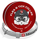 Flea and Tick Collar for Cats - Swiss Quality - Safe & Eco-Friendly