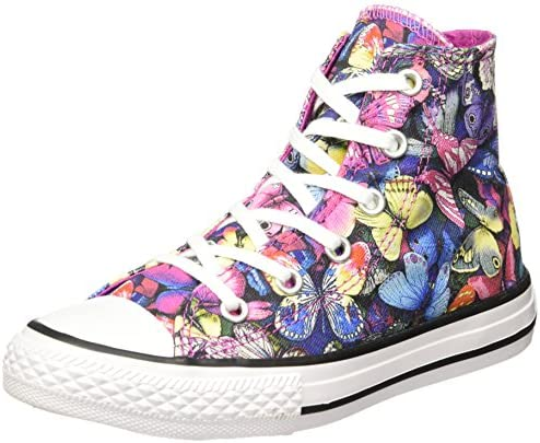 Converse Unisex-Kinder All Star Hi Canv Graphics Hohe Sneaker