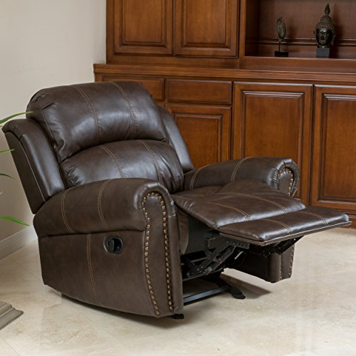 - Best-selling 346732 A346732 Gavin Brown Bonded Leather Gliding Recliner