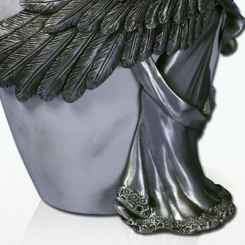 Angelstar Angel's Embrace Pewter Urn, 5-Inch, 8 Cubic Inch (45420) by Angel Star (Image #2)