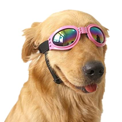afddbdb0d0c VANVENE Pet Glasses Dog Sunglasses Dog Glasses Golden Retriever Samoyed  Sunglasses Goggles Big Dog Eye Wear