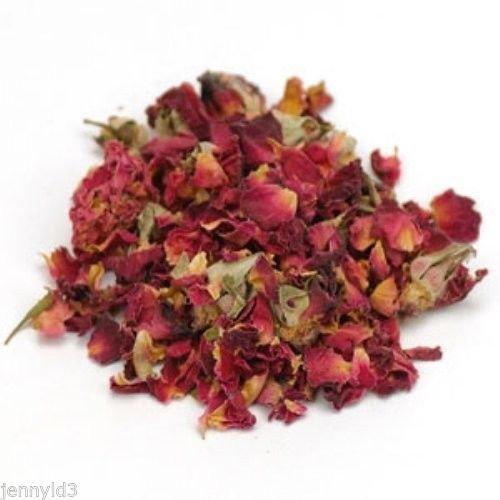 Dried Rosebuds (Rose Buds - Rose Petals - Dried Rosebuds - 1oz- Sample Size)