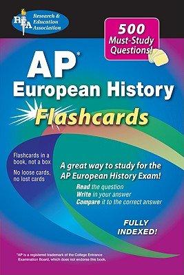 AP European History Flashcards   [AP EUROPEAN HIST FLASHCARDS] [Paperback] ebook