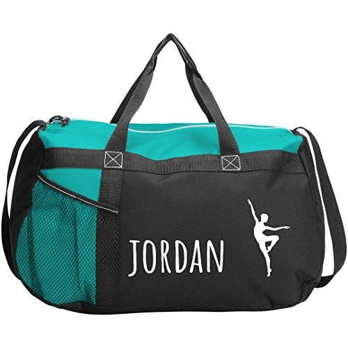 Jordan Ballet Dance Bag Gift: Gemline Sequel Sport Duffel Bag by FUNNYSHIRTS.ORG