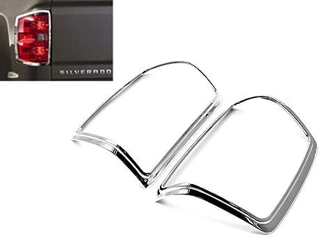 For 14~2018 Chevy Silverado Gmc Sierra Chrome Door Handle Mirror Tailgate Cover
