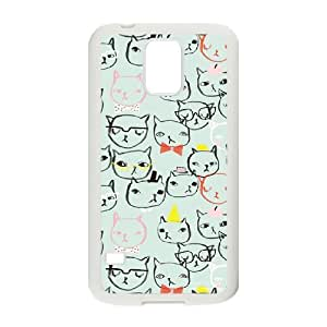 Cats Custom Case for SamSung Galaxy S5 I9600, Personalized Cats Case