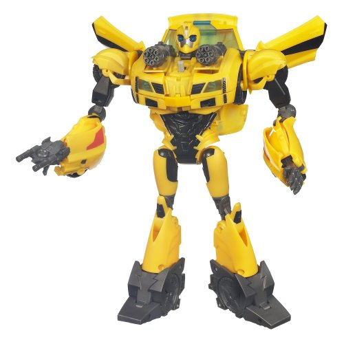 Transformers Prime Weaponizer Bumblebee Figure 8.5 Inches]()